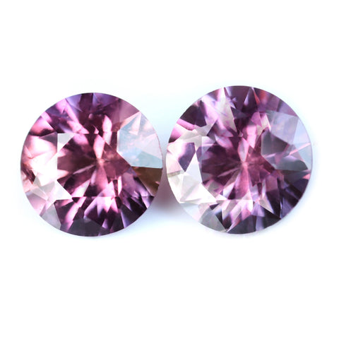 0.93ct Certified Natural Pink Sapphire Matching Pair