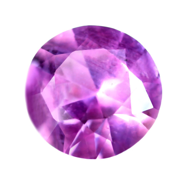 0.62ct Certified Natural Purple Sapphire