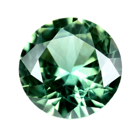 0.31ct Certified Natural Green Sapphire