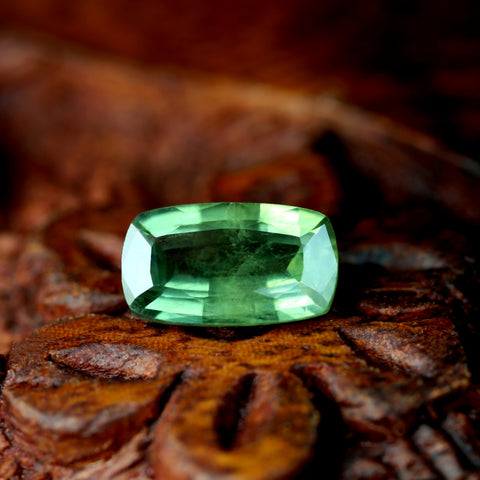 1.17ct Certified Natural Green Sapphire