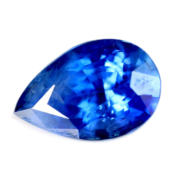 0.61ct Certified Natural Blue Sapphire