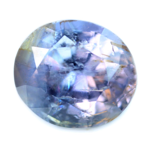 1.71ct Certified Natural Purple Sapphire