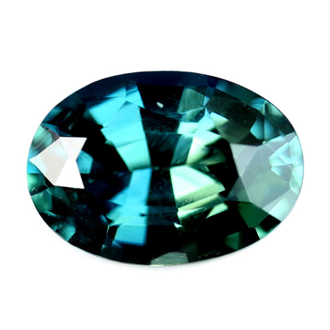 0.65ct Certified Natural Teal Sapphire