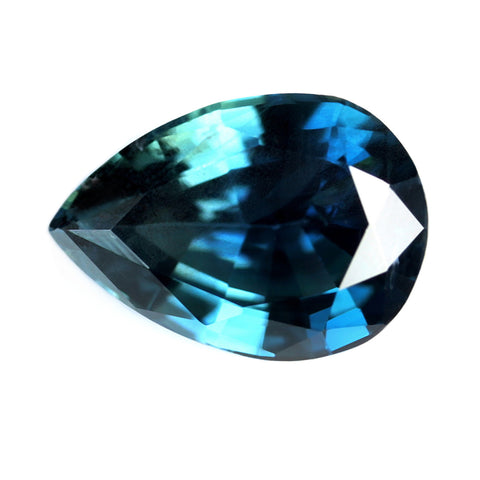 0.91ct Certified Natural Blue Sapphire
