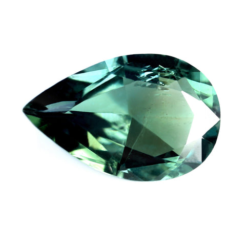 1.54ct Certified Natural Teal Sapphire