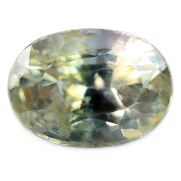 1.61ct Certified Natural Yellow Sapphire