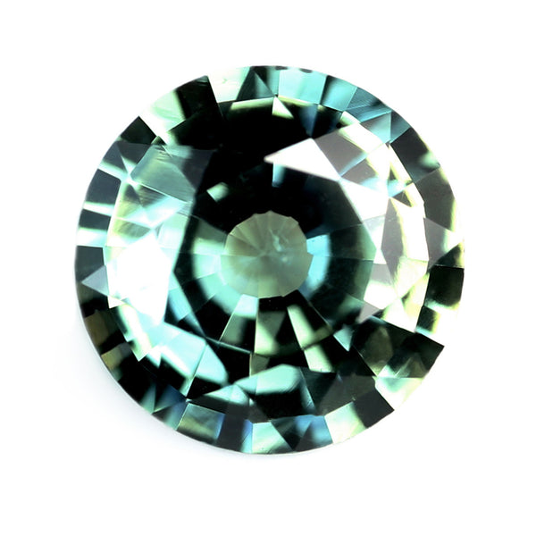 0.67ct Certified Natural Teal Sapphire
