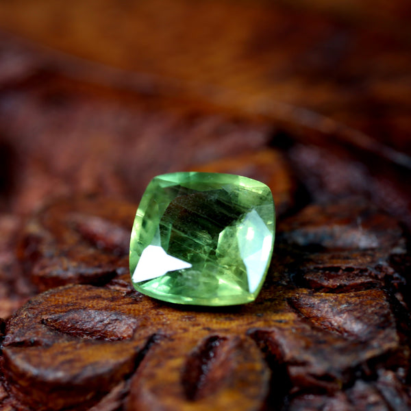 1.35ct Certified Natural Green Sapphire