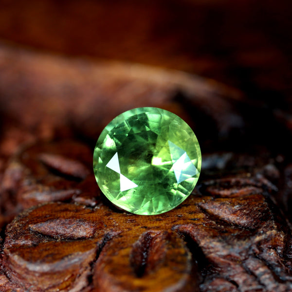 1.80ct Certified Natural Green Sapphire