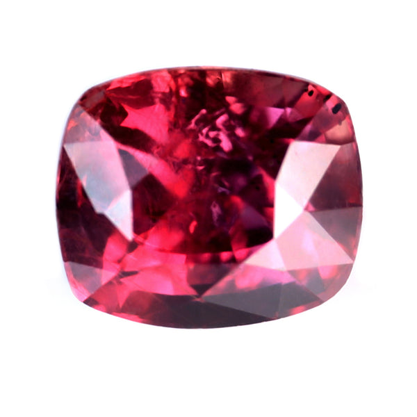 0.63ct Certified Natural Red Ruby