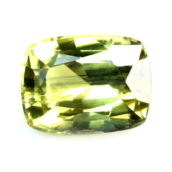 0.98ct Certified Natural Yellow Sapphire