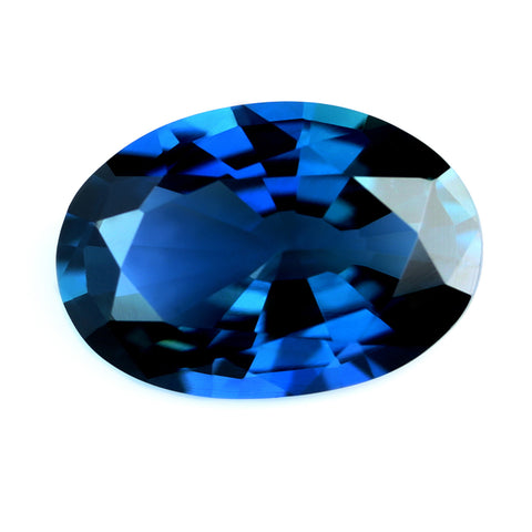 0.85ct Certified Natural Blue Sapphire