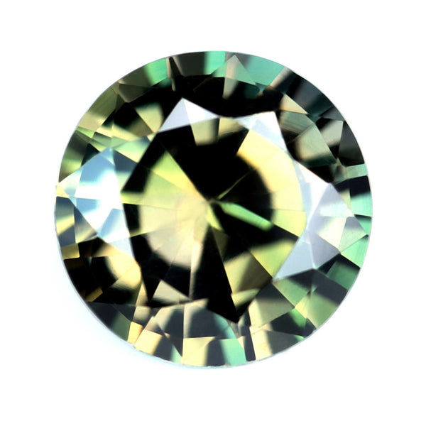 0.87ct Certified Natural Multi-Color Sapphire