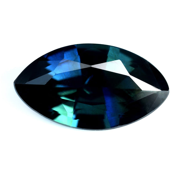 0.99ct Certified Natural Blue Sapphire