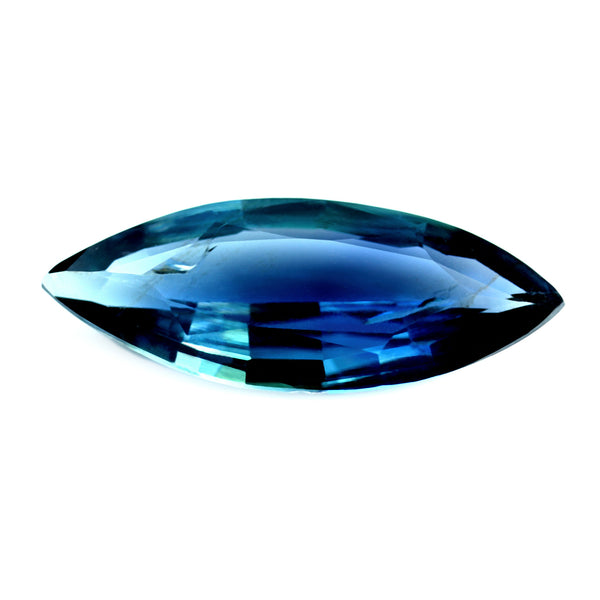 0.72ct Certified Natural Blue Sapphire