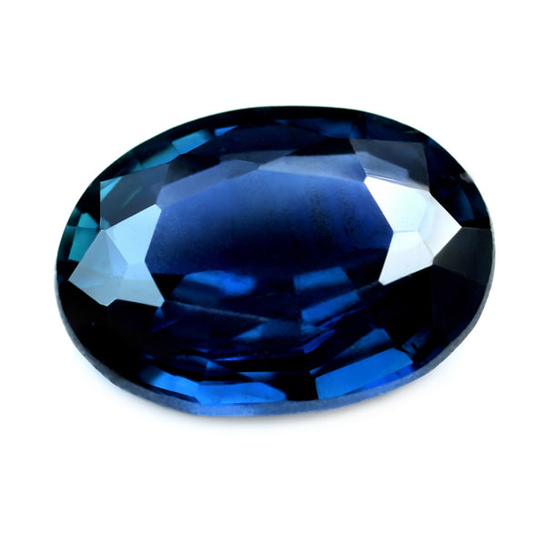 1.00ct Certified Natural Blue Sapphire