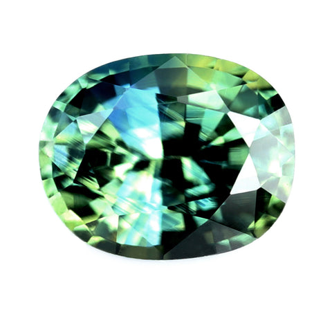 0.56ct Certified Natural Multicolor Sapphire