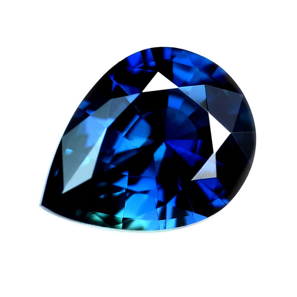 0.42ct Certified Natural Blue Sapphire