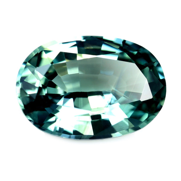 0.84ct Certified Natural Teal Sapphire
