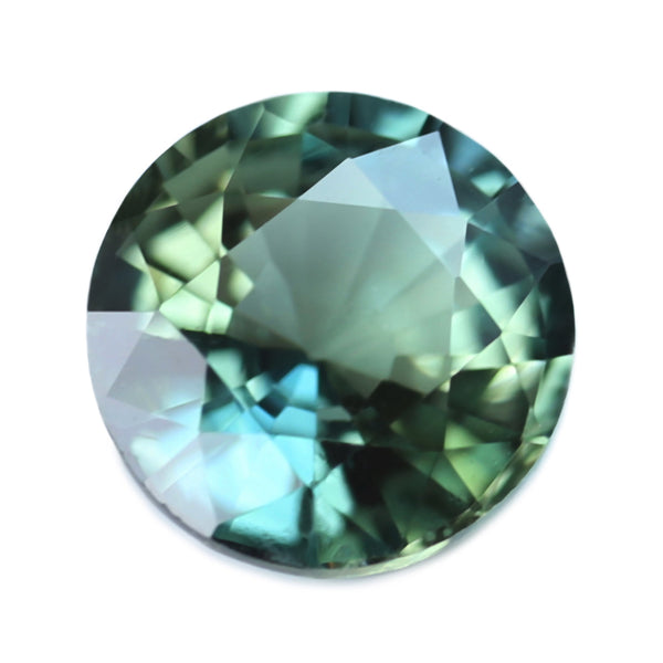 0.46ct Certified Natural Green Sapphire