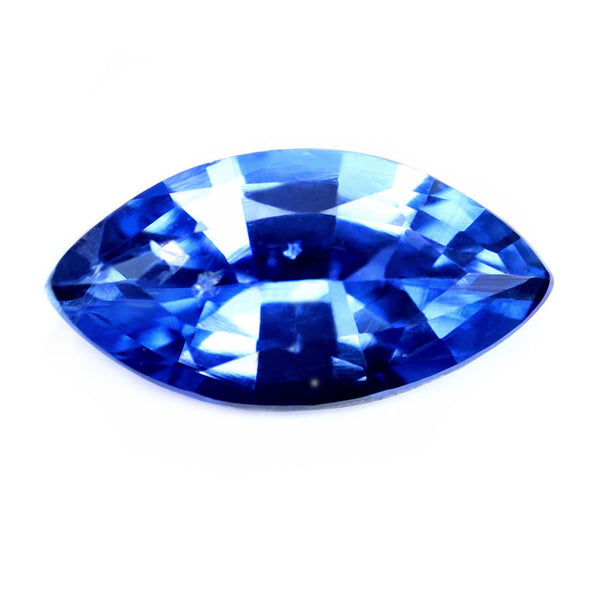 0.51ct Certified Natural Blue Sapphire