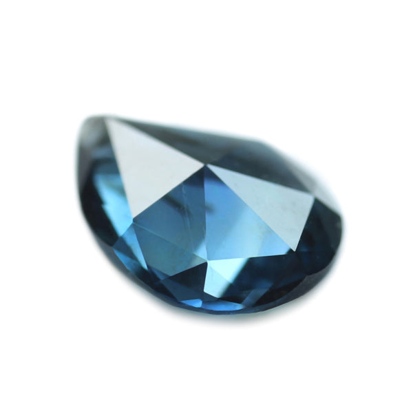 0.57ct Certified Natural Teal Sapphire