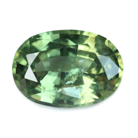 1.16ct Certified Natural Green Sapphire