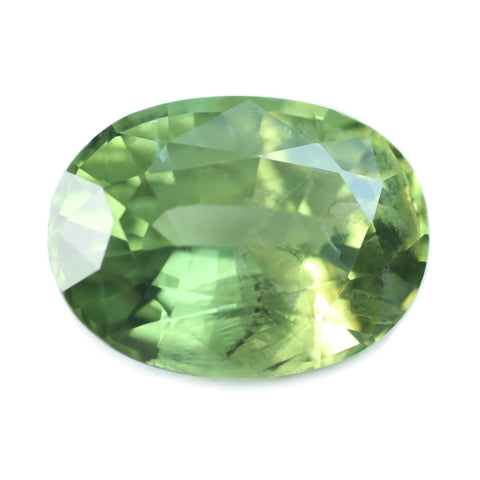 1.14ct Certified Natural Green Sapphire