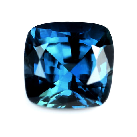 0.58ct Certified Natural Blue Sapphire