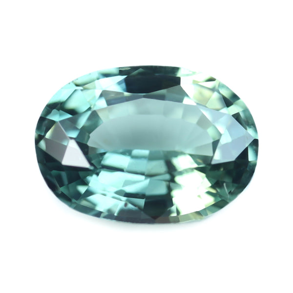 0.77ct Certified Natural Teal Sapphire