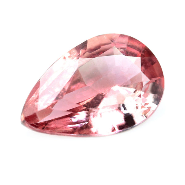 0.80ct Certified Natural Padparadscha Sapphire