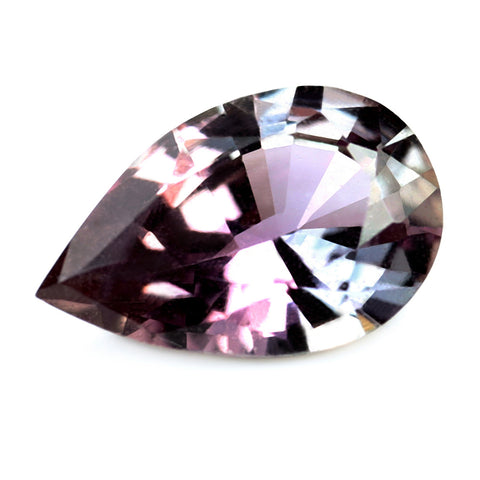 0.61ct Certified Natural Multicolor Sapphire