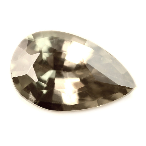 0.85ct Certified Natural Brown Sapphire