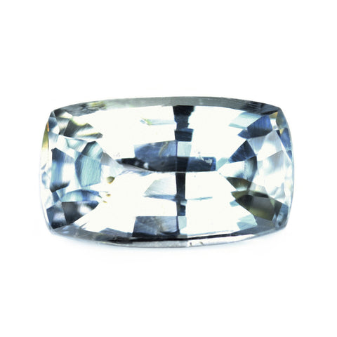 1.32ct Certified Natural White Sapphire