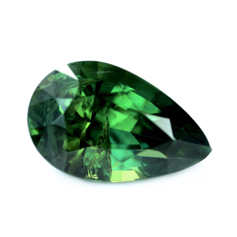 2.71ct Certified Natural Green Sapphire