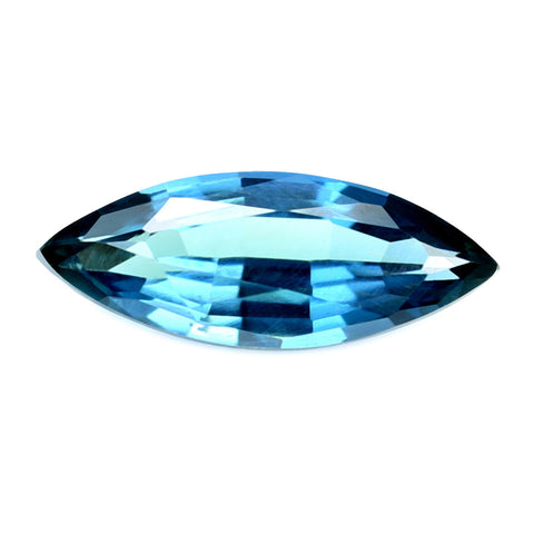 0.35ct Certified Natural Teal Sapphire