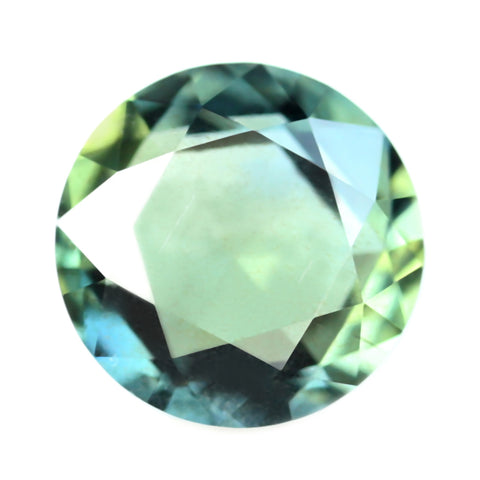0.45ct Certified Natural Teal Sapphire