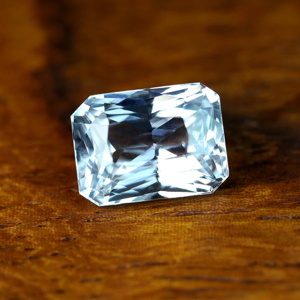 1.70ct Certified Natural White Sapphire
