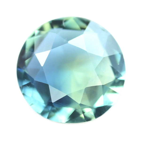 0.41ct Certified Natural Teal Sapphire