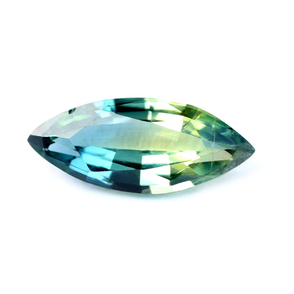 0.37ct Certified Natural Bicolor Sapphire