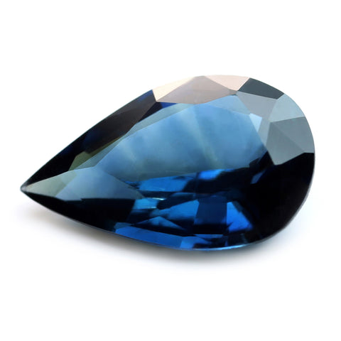 0.82ct Certified Natural Blue Sapphire