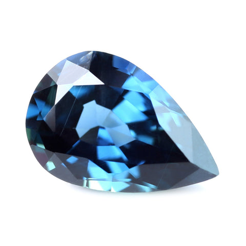 0.71ct Certified Natural Blue Sapphire