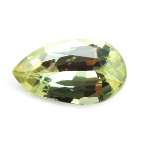 0.72ct Certified Natural Yellow Sapphire