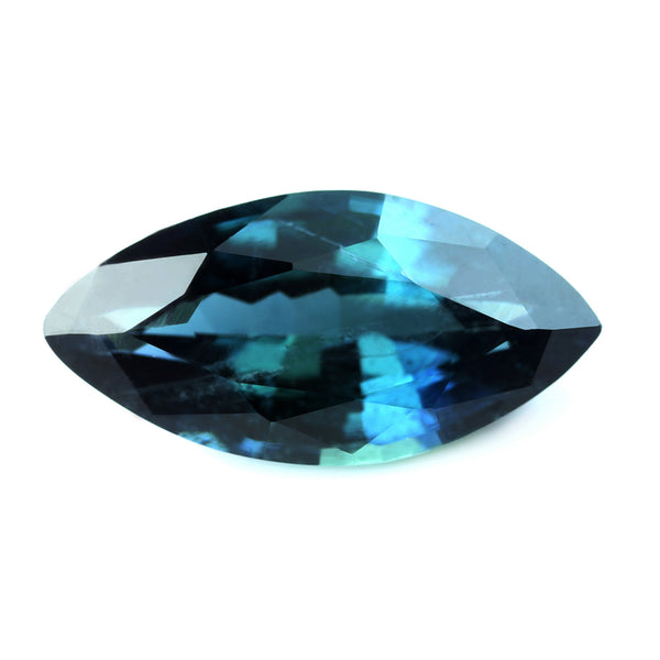 0.69ct Certified Natural Teal Sapphire