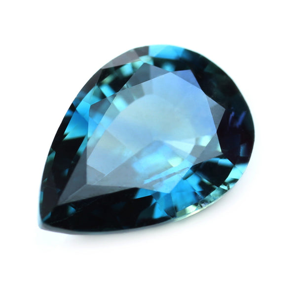 0.87ct Certified Natural Blue Sapphire