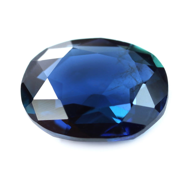 0.56ct Certified Natural Blue Sapphire