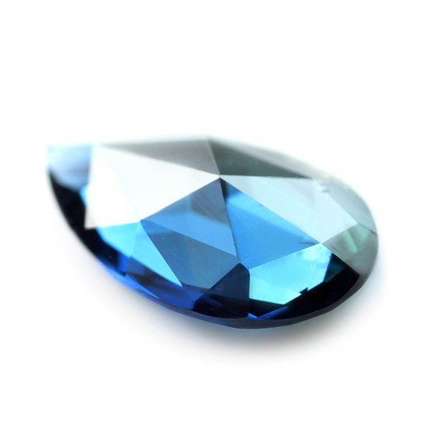 0.55ct Certified Natural Teal Sapphire