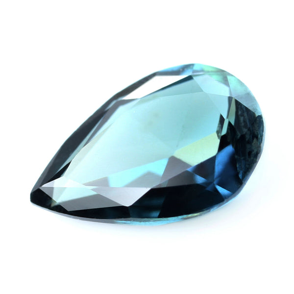 0.60ct Certified Natural Teal Sapphire