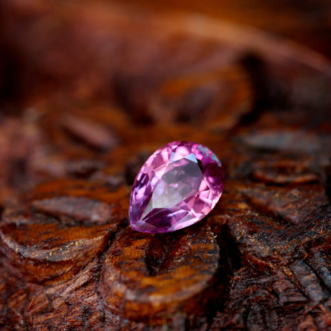 0.57ct Certified Natural Pink Sapphire