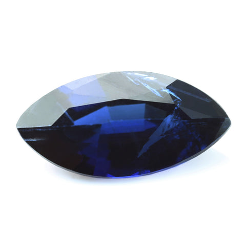 1.21ct Certified Natural Blue Sapphire